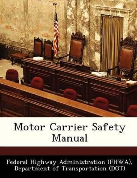 NEW Motor Carrier Safety Manual by Paperback Book (English) Free - safety manual