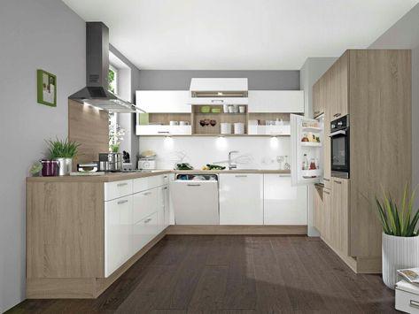 Küche U-Form Küche Pinterest Layout, Form und Küche - küchenspiegel aus holz