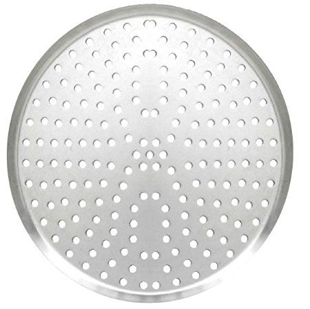 Allied Metal Bdlp12 12 Inch Heavy Weight Aluminum Perforated Pizza Pan Tapered Design 11 16 Inch Deep Review Taper Design Heavy Weight Pan Pizza
