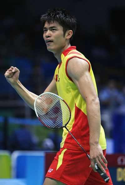 Lin Dan S Racket In 2008 In 2020 Badminton Racket Badminton Badminton Photos