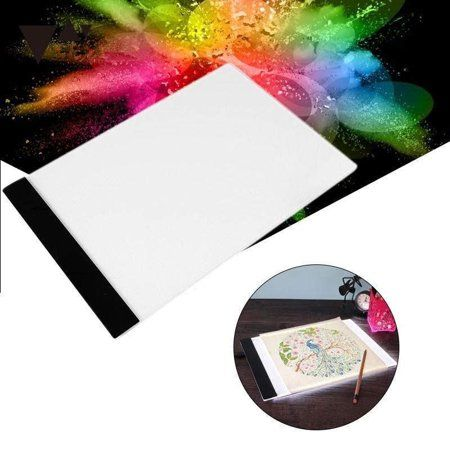 A4 Light Box For Tracing Ultra Thin Portable Led Light Pad With Advanced Filter To Prevent Eye Fatigue Portable Led Lights Led Light Box Light Box For Tracing