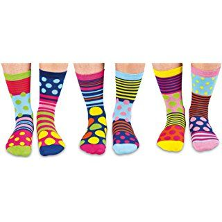 Vous Funk Bo/îte de 6 Oddsocks par United Oddsocks UK 6-11