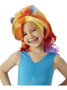 NEW!! My Little Pony Rainbow Dash Wig