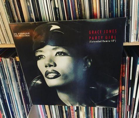 records Grace Jones – Party Girl...