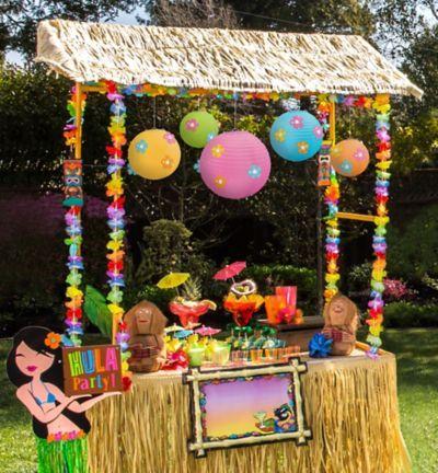 Tiki Bar Decorating Kit Luau Theme Party Tiki Party Luau