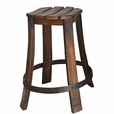 Red Shed Wooden Barrel Stool Set Of 2 At Tractor Supply Co Wooden Barrel Barrel Table Stool