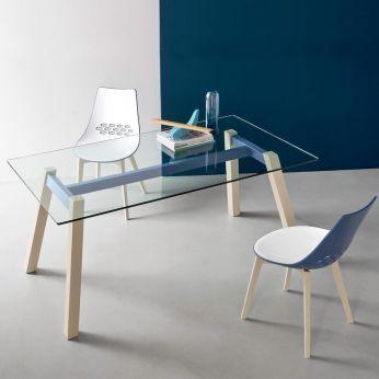 Tavolo Calligaris Vetro Trasparente.Connubia Outlet Cb4781 T Table Mobili Design Di Mobili E