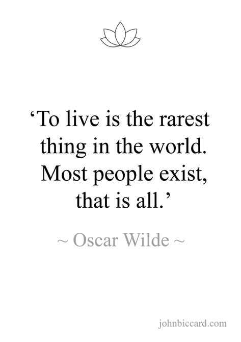 A quote from The Soul of Man under Socialism by Oscar Wilde.
