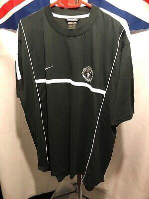 Nike Manchester United Black White Training Shirt Size Xl G330 Fashion Sports Memorabilia Footballshirts Englishc In 2020 Training Shirts Army Tee Shirts Shirts