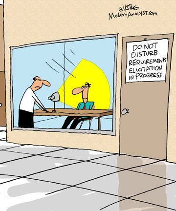 Humor  Cartoon A Clear Business Analyst Job Description