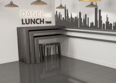 Multi Directional Mobile Sliding Bar Table In Ceramic Snack By Cancio Ceramic Directional Mobile Multi Sliding Sna Home Decor Decals Home Decor Decor
