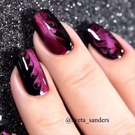 Wow! What a fantastic Nail art Design #nails #NailArt #naildesign #Nagel #NagelKunst