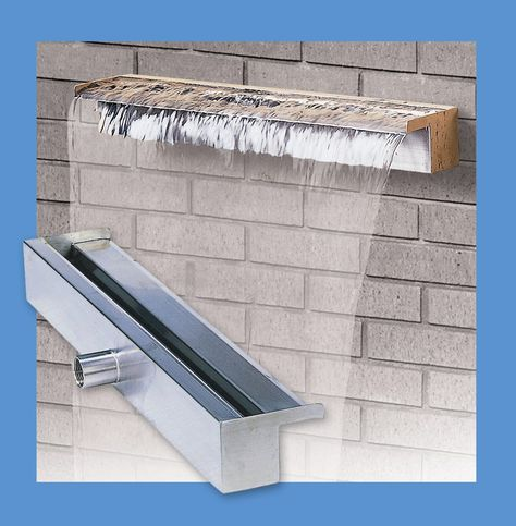 Features Water Weir Fountain Material 304 Stainless Steel