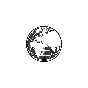 Globe Logo Design Icon Vector Globe Icons Logo Icons Icon Png And Vector With Transparent Background For Free Download In 2021 Globe Logo Map Logo Logo Design Set