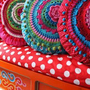 Haken Crochet Hakeln Jaquard Verschillende Steken Haaksteken