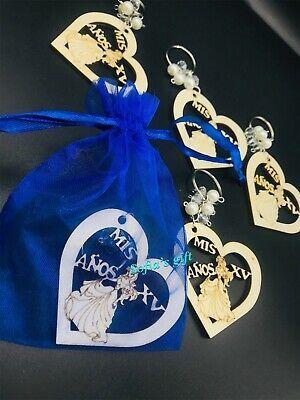 12 Sweet 16 Quinceanera Party Favor Recuerdos de quinceanera FREE ROYAL BLUE Bag