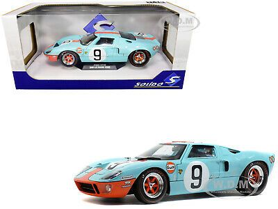 Ford Gt40 Mk I N 9 Winner Le Mans 1968 1 18 Solido S1803001 For Sale Online Ebay Car Model Ford Gt40 Diecast Model Cars