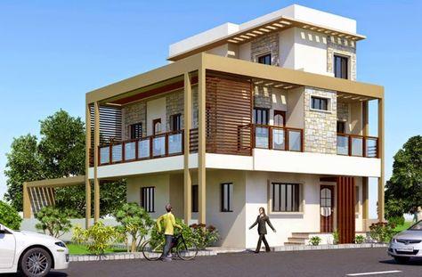 15 contoh terbaru rumah minimalis 3 lantai yang nampak