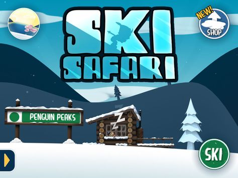 Лыжное сафари онлайн