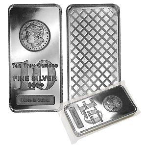 10 Oz Silver Bar Varied Condition Any Mint Silver Bars Silver Silver Bullion