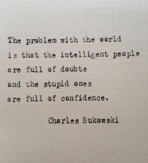 Citation de Charles Bukowski sur l& de BookoftheDad sur Etsy - Quotes - # # Typed Quotes, Poem Quotes, Wisdom Quotes, Words Quotes, Wise Words, Quotes To Live By, Life Quotes, Sayings, Yeats Quotes