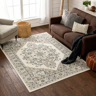 Astoria Grand Gilson Oriental Brown Beige Area Rug Well Woven Beige Rug Beige Area Rugs