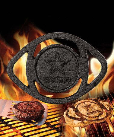 this is ridiculously awesome! Dallas Cowboys Single Barbecue Brander by NFL Game Day: Gift Shop