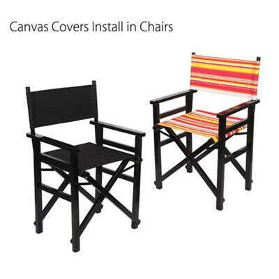 Advertisement Casual Directors Chairs Replacement Canvas Seat Stool And Back Covers Sheet In 2020 Chair Directors Chair Garden Furniture Covers