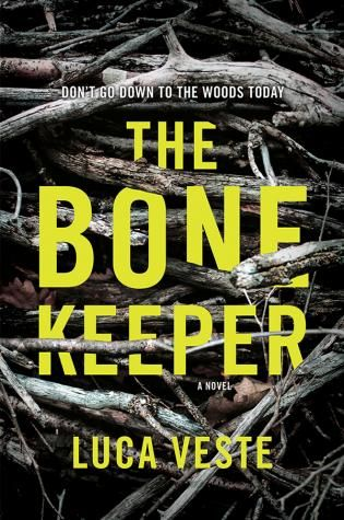 The Bone Keeper by Luca Veste - Brilliant Book Covers: The Best