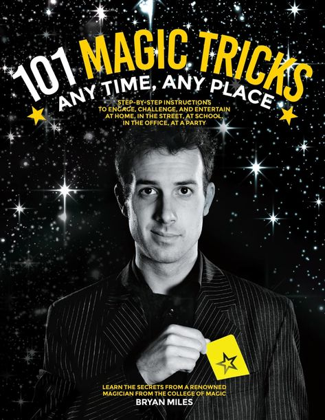 101 Magic Tricks Ebook Learn Magic Learn Magic Tricks Magic