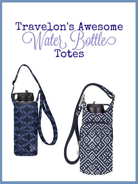 Travelon Anti-theft Boho Water Bottle Tote Sling Tote