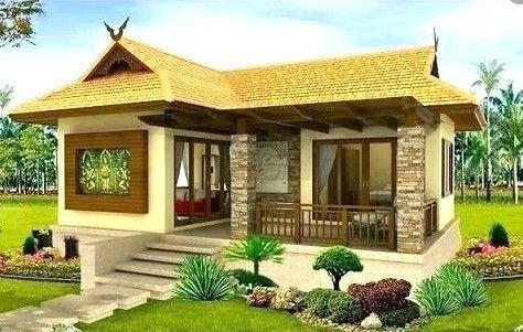 Simple And Elegant House Design Desain Eksterior Rumah Desain Eksterior Desain Rumah Mungil