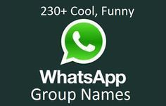 cool-funny-whatsapp-group-names | Random stuff | Funny group