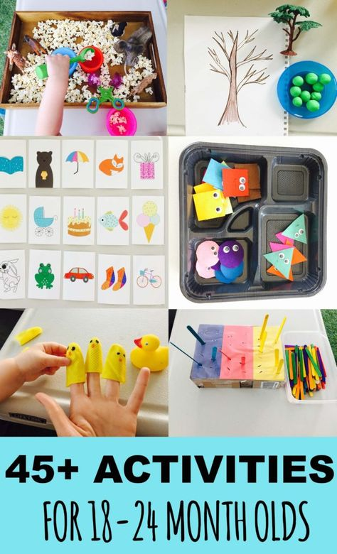 45+ Learning Activities For 18-24 month olds. Toddler