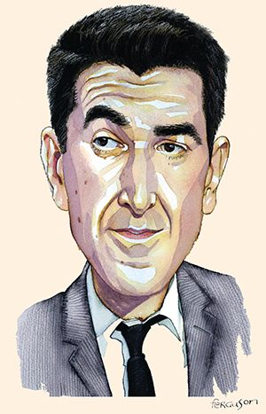 'I am very anti-bourgeois,' the head of Lazard Frères in France tells Michael Stothard over sushi in Paris.