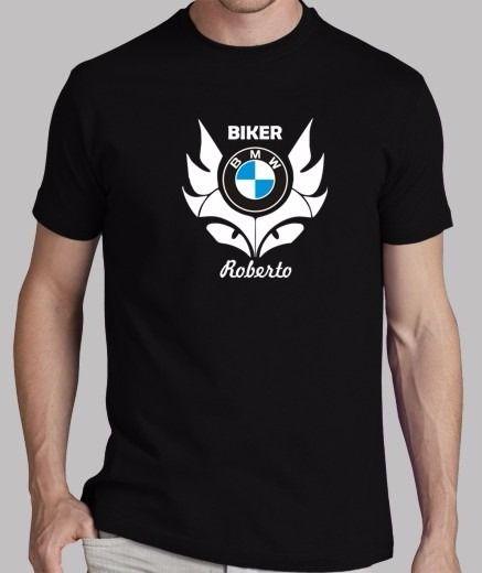 b65159d6cb Playera Biker Bmw Con Tu Nombre Envío Gratis A Todo México - $ 324.40 en Mercado  Libre