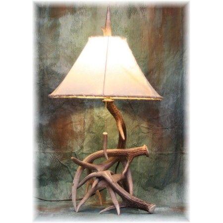 Lampe de bois de cerf lampe bois lampe de par BoeufRiverDesigns   Bricolage    Lámparas, Decoración de unas et Cuernos 35515d5ad539