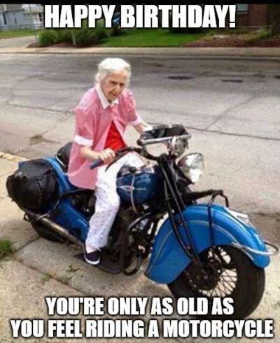 Birthday Motorcycle Meme : birthday, motorcycle, Funny, Birthday, Wishes, Motorcycle, Riders, Humor,, Funny,, Happy, Biker