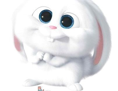 Ultra Cute Snowball The Rabbit Cardboard Cutout From The Secret Life Of Pets 2 Free Uk Delivery Worldwide Shipping At Starstills Com Secret Life Of Pets Cardboard Cutout Pets
