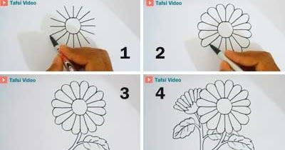 Terbaru 30 Gambar Batik Bunga Yang Mudah Digambar Di Buku Gambar ...