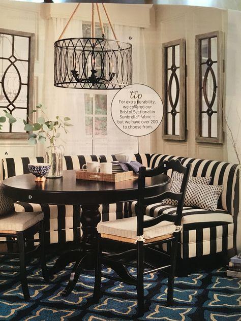 Bristol Seating From Ballard Designs Banquette Seating In Kitchen Banquette Seating Dining