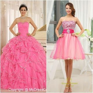 Pretty In Pink Quinceanera Theme-damas