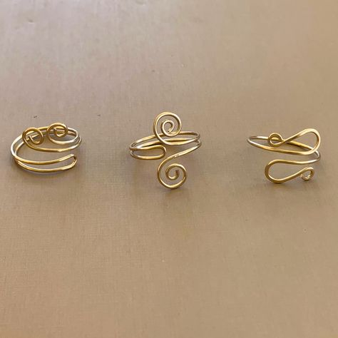 Lisa Yang Jewelry - Free Projects and Patterns: Single Curl Wave Wire Ring Instructions