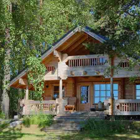 Como Hacer Una Casa De Madera Estilo Americano Con Acabados Casas Top Casas De Campo Inglesas Casas Casas Rusticas