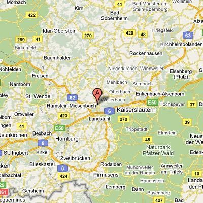 Ramstein Afb Germany Yahoo Search Results Travel GERMANY - Us bases in germany map