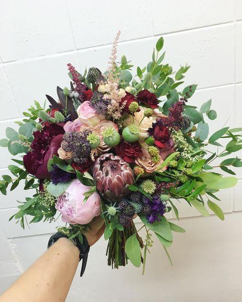 Dla A Kwiaty Bukiet Bukietslubny Bordo Floral Wreath Floral Instagram