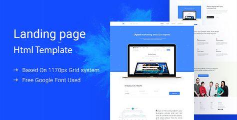 Dmarketing — Marketing Landing Page | Stylelib