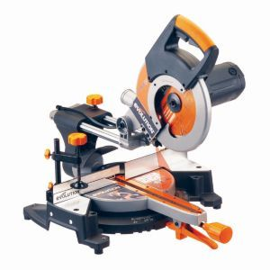 Evolution 1800w 110v 255mm Compound Mitre Saw Rage3fp2551