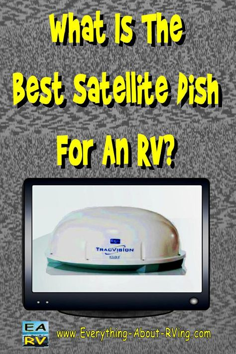 Here is our answer to: What Is The Best Satellite Dish For An RV? There are two types of automatic satellite antennas... Read More: http://www.everything-about-rving.com/what-is-the-best-satellite-dish-for-an-rv.html HAPPY RVING! #rving #rv #camping #leisure #outdoors #rver #motorhome #travel