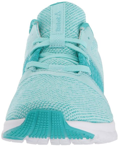 Reebok Womens Print Lite Rush GR Sneaker GrBlue Lagoon Solid Teal White 7.5  M US     See this great product. (This is an affiliate link) 626142461